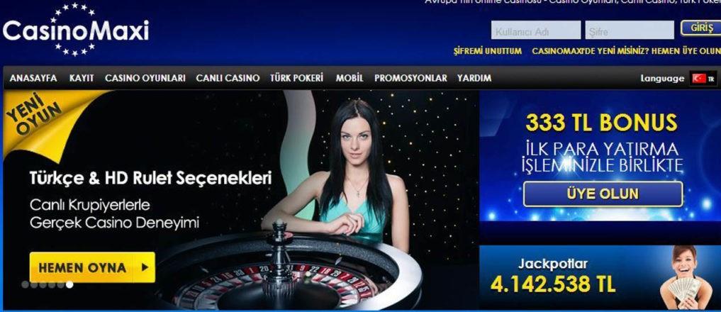 casinomaxi parali casino oyunlari nelerdir